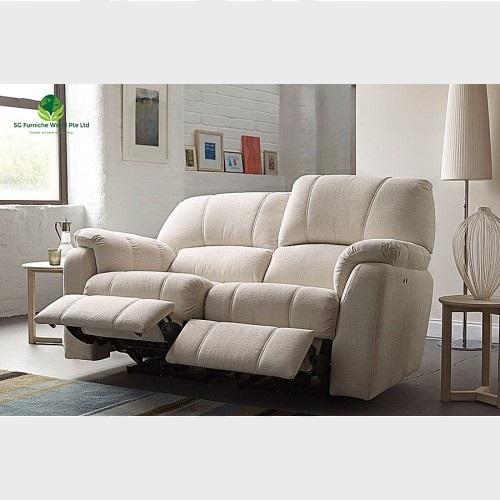 Fabric Recliner Double Seat Sofa Sgfw, Modern Recliner Sofa Fabric